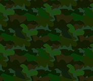 Camouflage seamless pattern background vector Royalty Free Stock Photo