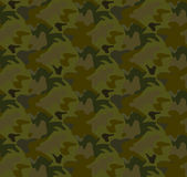 Camouflage seamless pattern background vector Stock Images