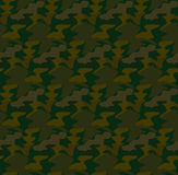 Camouflage seamless pattern background vector Royalty Free Stock Images