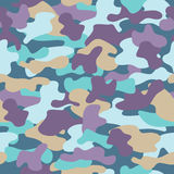 Camouflage seamless pattern 01. Camouflage seamless pattern. Colorful fashion trend. Bright abstract background Royalty Free Stock Photo