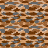 Camouflage seamless pattern Stock Photos