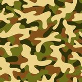 Camouflage seamless pattern. Four color camouflage seamless pattern Stock Image