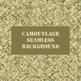 Camouflage seamless pattern Stock Image