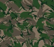 Camouflage seamless pattern Royalty Free Stock Photos