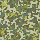 Camouflage seamless pattern. Camouflage seamless print. Abstract fabric pattern. EPS 10 vector illustration Royalty Free Stock Photo