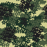 Camouflage seamless pattern. Stock Photos