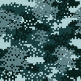 Camouflage seamless pattern. Stock Image