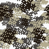Camouflage seamless pattern. Royalty Free Stock Photo