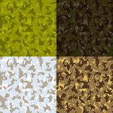 Camouflage seamless pattern Royalty Free Stock Image