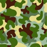 Camouflage seamless pattern.Woodland style vector illustration