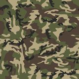 Camouflage seamless. A simple military camouflage pattern, endlessly repeatable Stock Image