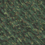Camouflage seamless texture. Camouflage square illustration - seamless texture Royalty Free Stock Photography
