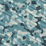 Camouflage seamless texture. Camouflage square illustration - seamless texture Royalty Free Stock Photo