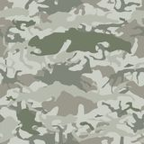 Camouflage. Seamless vector pattern - military camo texture Stock Photography