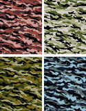Camouflage selection. Camouflage pattern series - illustration available stock illustration