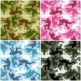 camouflage set Zdjęcia Stock