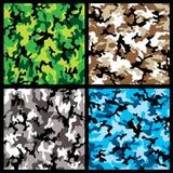Camouflage Set Stock Photography