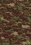 Camouflage Swirls Pattern Stock Image