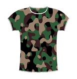 Camouflage T-shirt Royalty Free Stock Photo