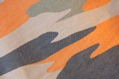 Camouflage textile Stock Photo