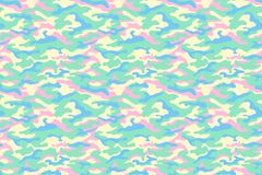 Camouflage texture, pastel colors. Vector Stock Images