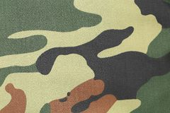 Camouflage texture pattern with green tones. Royalty Free Stock Photos