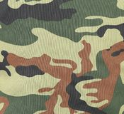 Camouflage texture pattern with green tones. Stock Photo