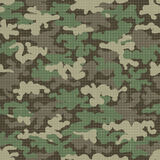 Camouflage texture seamless pattern royalty free illustration