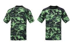 Camouflage tshirt Royalty Free Stock Image