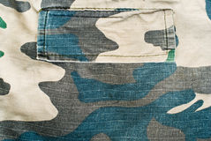 Camouflage twill Royalty Free Stock Images