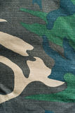 Camouflage twill Stock Image
