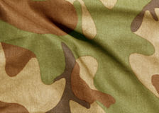 Camouflage uniform abstract pattern. Stock Photos