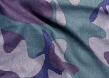 Camouflage uniform abstract pattern. Royalty Free Stock Images