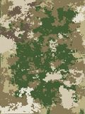 Camouflage vector texture. Background, pattern Stock Photography