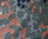 Camouflage vert kaki et de Brown Photos libres de droits