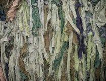 Camouflaged jute Royalty Free Stock Photo