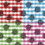 Camouflaged Ladybugs Royalty Free Stock Photo