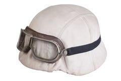 Camouflaged nazi german helmet Royalty Free Stock Images
