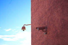 Camouflaged security cameras Royalty Free Stock Photography