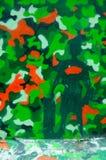 Camouflaged wall graffiti royalty free stock photos