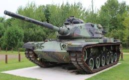Camouflaged wojsko zbiornik Fotografia Stock