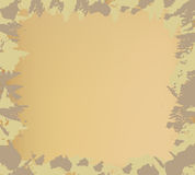 Camouflagekader Stock Afbeelding