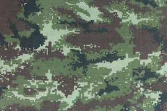 Camouflagepatroon naadloos voor textuur en achtergrond Stock Afbeeldingen