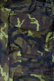 Camouflages. Detail of camouflage military  trousers Stock Image