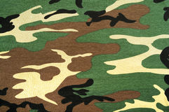 Camouflagestof Royalty-vrije Stock Afbeelding