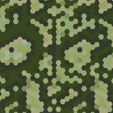 Camouflaje army style background Royalty Free Stock Photography