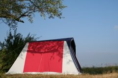 Camp photographie stock