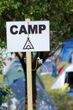 Camp Royalty Free Stock Photos