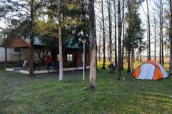 Camp Stock Image