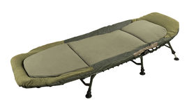 Camp bed Royalty Free Stock Image